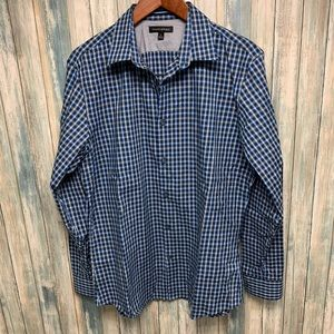 Banana Republic Men's Shirt sz Large Plaid # M65